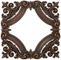 Landmark Metalcoat Baroque Frame Onlay 11 inches