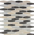 Nova Glass Tile Modern Pyramids Royal Tweed  MPS231