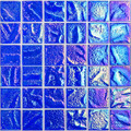 Aqueous  Iridescent Blue 2x2