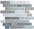 Glass Tile, Textile Series. Harris Tweed