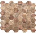 Glass Tile,  Woodland Series. Autumn Maple