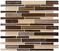 Glass Tile, Bella Muro Series. Monterey Suede