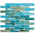 Nova Glass Oyster Cove Inspiration Teal