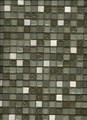 Spring  Rain Glass & Stone Mosaic 5/8x5/8