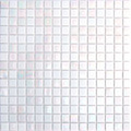 Hakatai Luster Series White alabaster blend glass tile