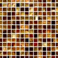 Sunset glass tile