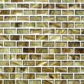 Sundown brick glass tile amber series