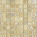 Seaside glass tile White