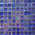 Seaside glass tile Blue