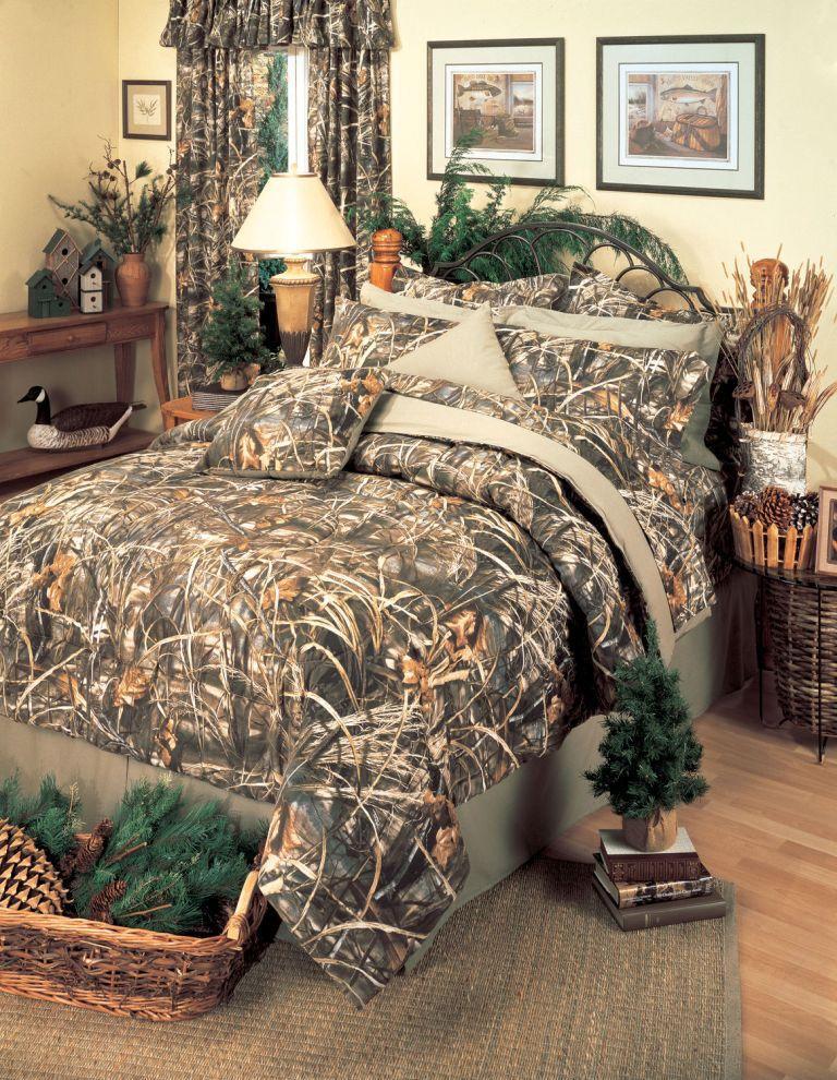 Realtree Max 4 8 Pc Camo Comforter Set Queen Size Camo Beds