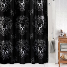 Bone-Collector-Black-Shower-Curtain