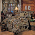 Realtree AP Camo All Purpose Comforter Set - Queen Size