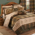 Ducks Unlimited Plaid Comforter Set: Available in twin, full, queen & king sizes.