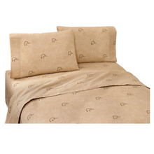 Ducks Unlimited Plaid Bed Sheets in Twin, Full, Queen King Sizes