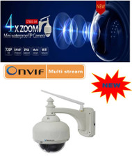 Vstarcam C7833WIP-X4 HD Optical 4X Zoom PTZ Network Camera(Outdoor)