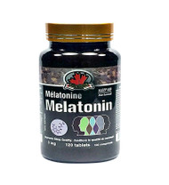 CAN GARDEN  Melatonin 120Capsules(加拿大CAN GARDEN 褪黑素 120粒入)