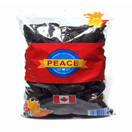 PEACE PAVILION Dried Premium Deep Sea Natural Sea Cucumber Bag Package( 3 lbs) 1362g(with Ribs/Belt Bandage)(加拿大 PEACE PAVILION 極品野海參-帶筋(三磅袋装) 1362g)