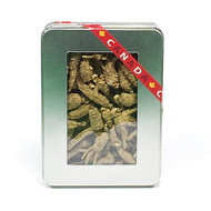 Peace Pavilion Semi-Wild Hilly  Ginseng_metal box   227g(加拿大 Peace Pavilion 西洋參 -半野坡蔘_鐵盒裝 227g)