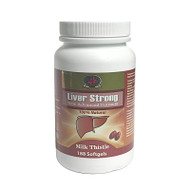 Can Garden Liver Strong New Advanced Formular Milk Thistle 188Softgels(加拿大Can Garden 精華雙效超級肝宝 188粒入)