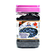 UNCLE BILL Sweetened Dried Blueberries  380g(加拿大UNCLE BILL 蓝莓干 塑胶罐装 380g)