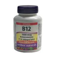 WEBBER NATURALS VITAMIN B12 1000mg  80 Tablets(加拿大 WEBBER NATURALS 维他命B12  1000mg 80粒入 )