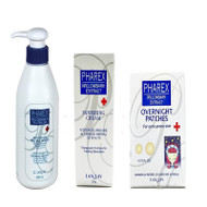 LANLAY PHAREX Acne Treatment Trilogy 3 bundle kits(美国LANLAY PHAREX战痘系列三件组)