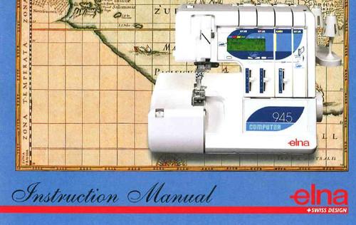 Elan 945 instruction manual
