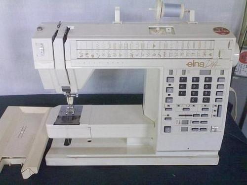 Elna 40 40 DIVA Sewing Machine PDF Instruction Manual Cool Elna 9000 Sewing Machine