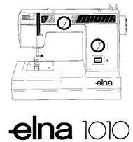 Elna 2003 2005 2007 Sewing machine PDF instruction manual