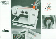 Elna Elnita ZZ Sewing machine instruction manual
