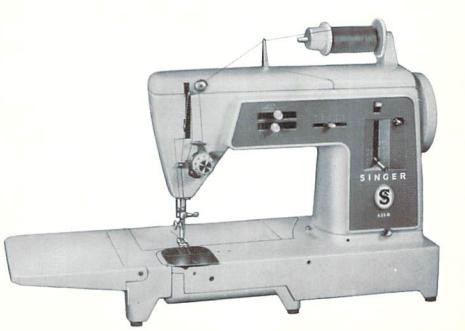 Singer 631 G Sewing machine instruction manual