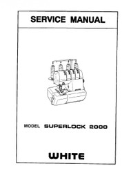 White Superlock 2000