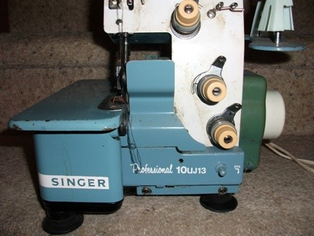 Singer Professional 10UJ13 Overlocker instruction manual