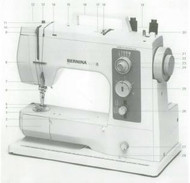 Bernina 801sport 802 803 Sewing machine instruction manual