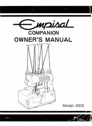 Empisal Companion 400E Instruction manual in PDF