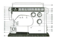 Husqvarna Viking SL-6000 6460  Sewing machine instruction manual