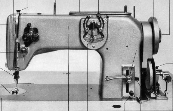 Bernina 217 Sewing machine instruction manual