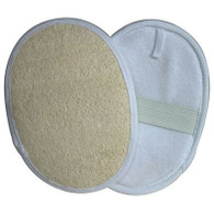 Kingsley Loofah Body Pad One Side Loofah/One Side Terry