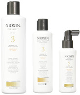 Nioxin System 3 Piece Kit for Fine Normal to Thin Looking Hair