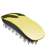Ikoo Home Detangling Hair Brush - Black/Soleil Metallic