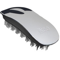 Ikoo Home Black Oyster Metallic Detangling Brush