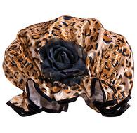 Fancy Shower Caps Leopard Design