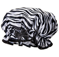 Fancy Shower Caps Zebra Design