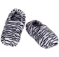 Kingsley Zebra Pattern Lavender Scented Herbal Socks