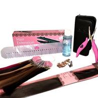 Fusion (Bonded) Hair Extension Starter Kit