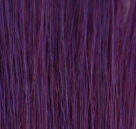Human Single Clip-In Hair - Purple