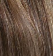 """Full Head Synthetic Hair #6/10 (Dark Chestnut/Medium Ash) 18"""""""