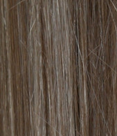 Full Head Synthetic Hair #6/24 (Dark Chestnut/Gold Blonde) 18""