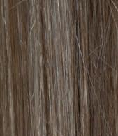 "Full Head Synthetic Hair #6/24 (Dark Chestnut/Gold Blonde) 18"""