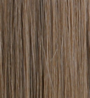 Full Head Synthetic Hair #8 (Light Chestnut Brown) 18""